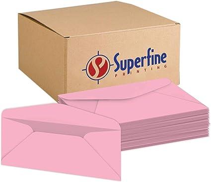Sobres premium Pastel # 10 Business – para vacaciones, oficina, facturas, letras, correos | 4 1/8 x 9 1/2 pulgadas | 500 por paquete: Amazon.es: Oficina y papelería