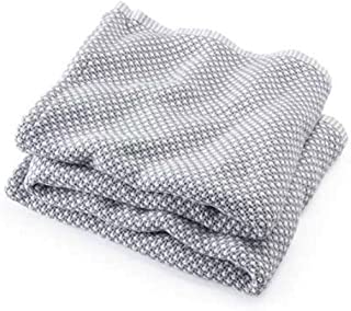 product image for Brahms/Mount Edgecomb Blanket | Cotton - Dove Gray - Full