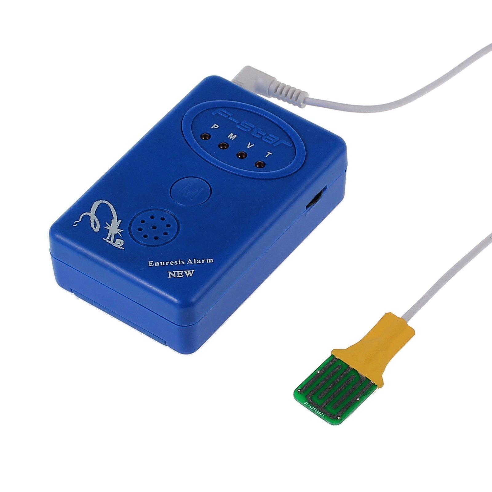Proster Bedwetting Alarm Bed Wetting Alarm Urine Alert Enuresis Bedwetting Sensor Clamp Probe