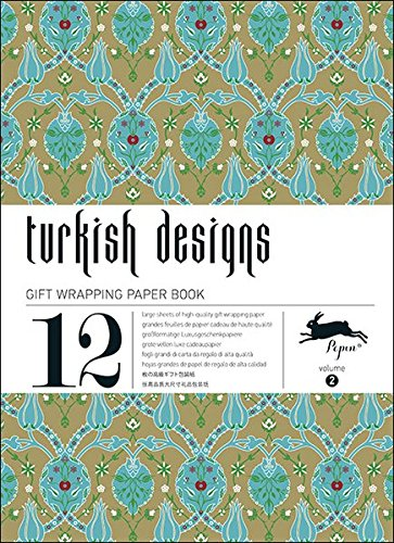 Turkish Designs : Gift and creative paper book Vol. 2 (English and Multilingual Edition) (Pepin Press)