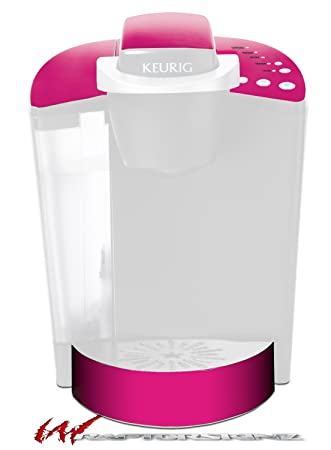 Captivating Solids Collection Hot Pink (Fuchsia)   Decal Style Vinyl Skin Fits Keurig  K40 Elite