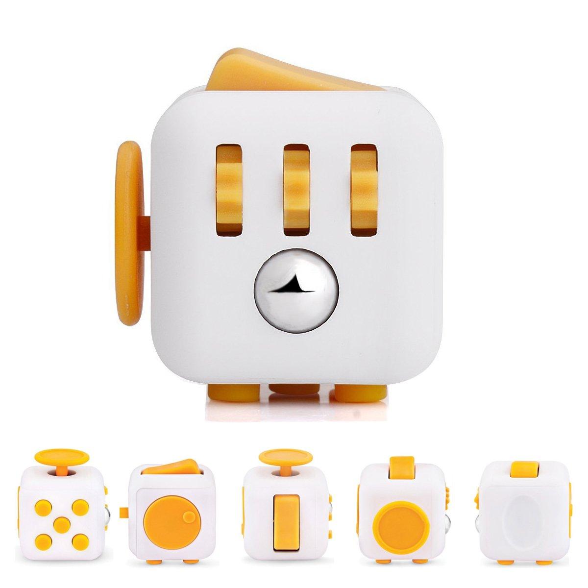 Fidget Cube Toy Anxiety Attention Stress Relief Stock Stuffer Soulage le stress pour les enfants et les adultes UtopiaLi
