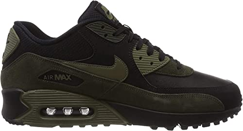 Nike Air Max 90 Leather, Sneakers Basses Homme: Amazon.fr ...