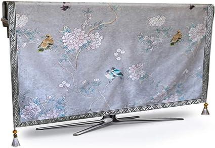 WJYX Cubierta de TV Cubierta de Polvo de TV Cubierta de TV de Plasma Resistente al Agua y Polvo Cubierta de TV de Plasma de 22 Pulgadas Gris Claro: Amazon.es: Electrónica