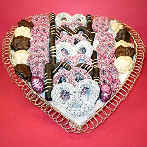 Valentines Day Chocolate Gift Basket