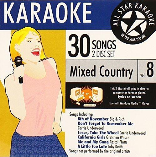 Karaoke: Mixed Country 8 by All Star Karaoke