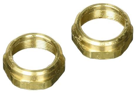 Delta Faucet RP6060SB Bonnet Nuts, Polished Brass, 2-Pack - Faucet ...