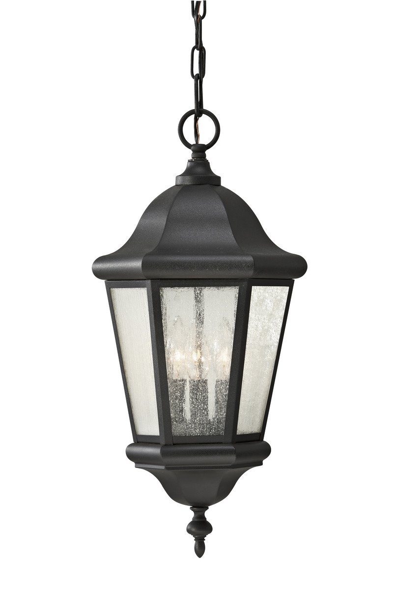 Murray Feiss OL5911BK Home Solutions Martinsville 1-Light Outdoor Lantern by Feiss