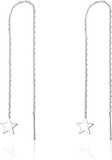 Yumilok pendentif collier en 925 argent et zircon cubique l/él/éphant brillant aimable mignon pour femme fille comme cadeau