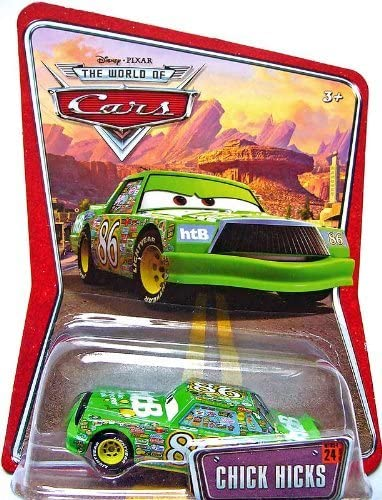 Cars Toys Mcqueen Chick Hicks the King Metal Toy Car 1:55 Loose Kid Speed Racer