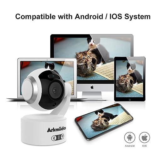 Amazon.com: Baby Monitor Home Cámara con 2 Way Audio 1080P ...