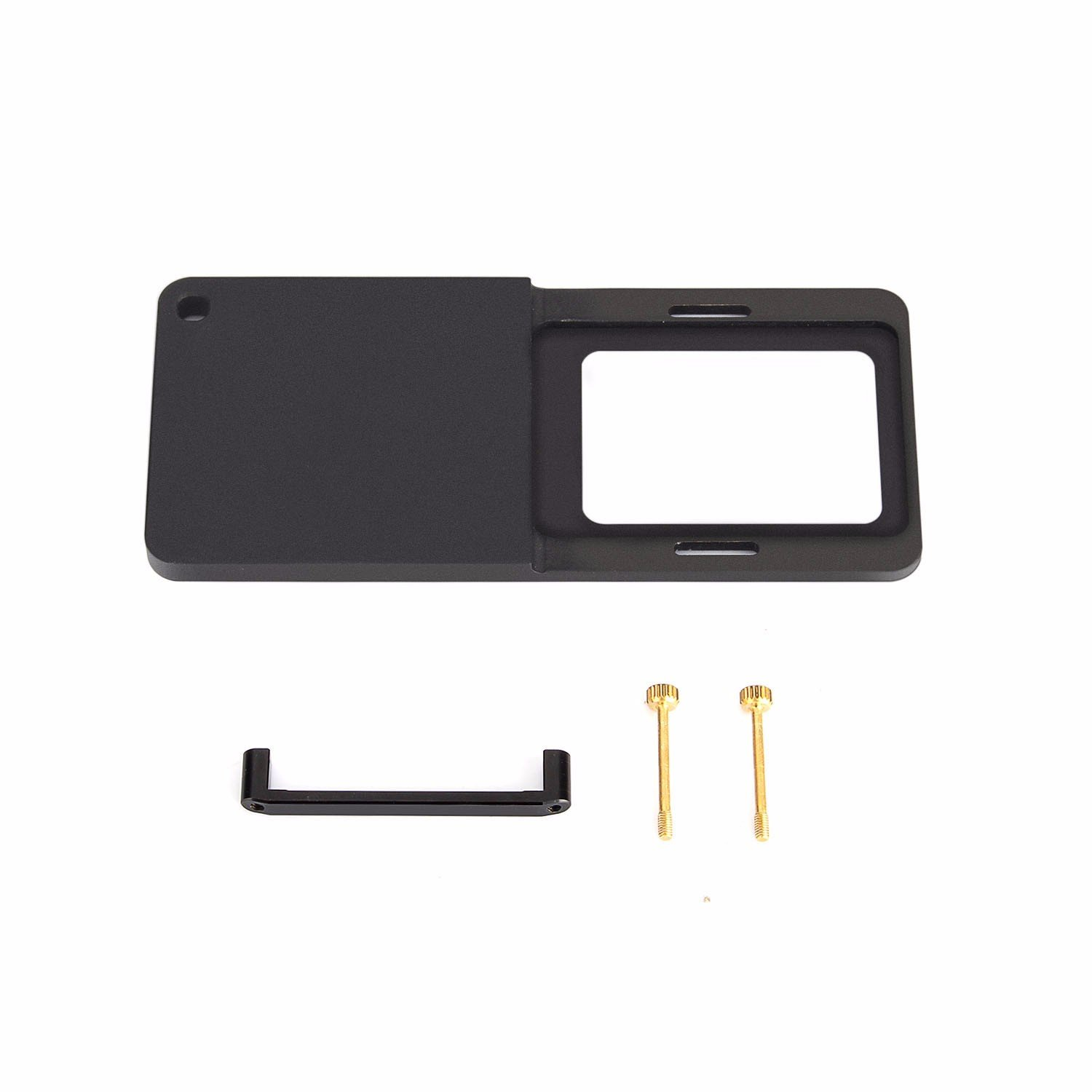 HolaFoto Plate for Feiyu SPG & Zhiyun Smooth Q/ C / C+ / SMOOTH-II and III Handheld Stabilizer Gimbal to Connects Gopro Hero 6 / 5 / 4 / 3 / 3+ Camera (Plate Only)