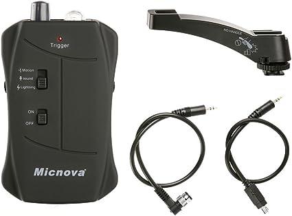 Micnova MQ-VTN Sensor de cámara disparador Lightning PIR 5 m ...