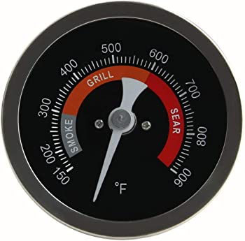 KAMaster Grill Temperature Gauge For Big Green Egg