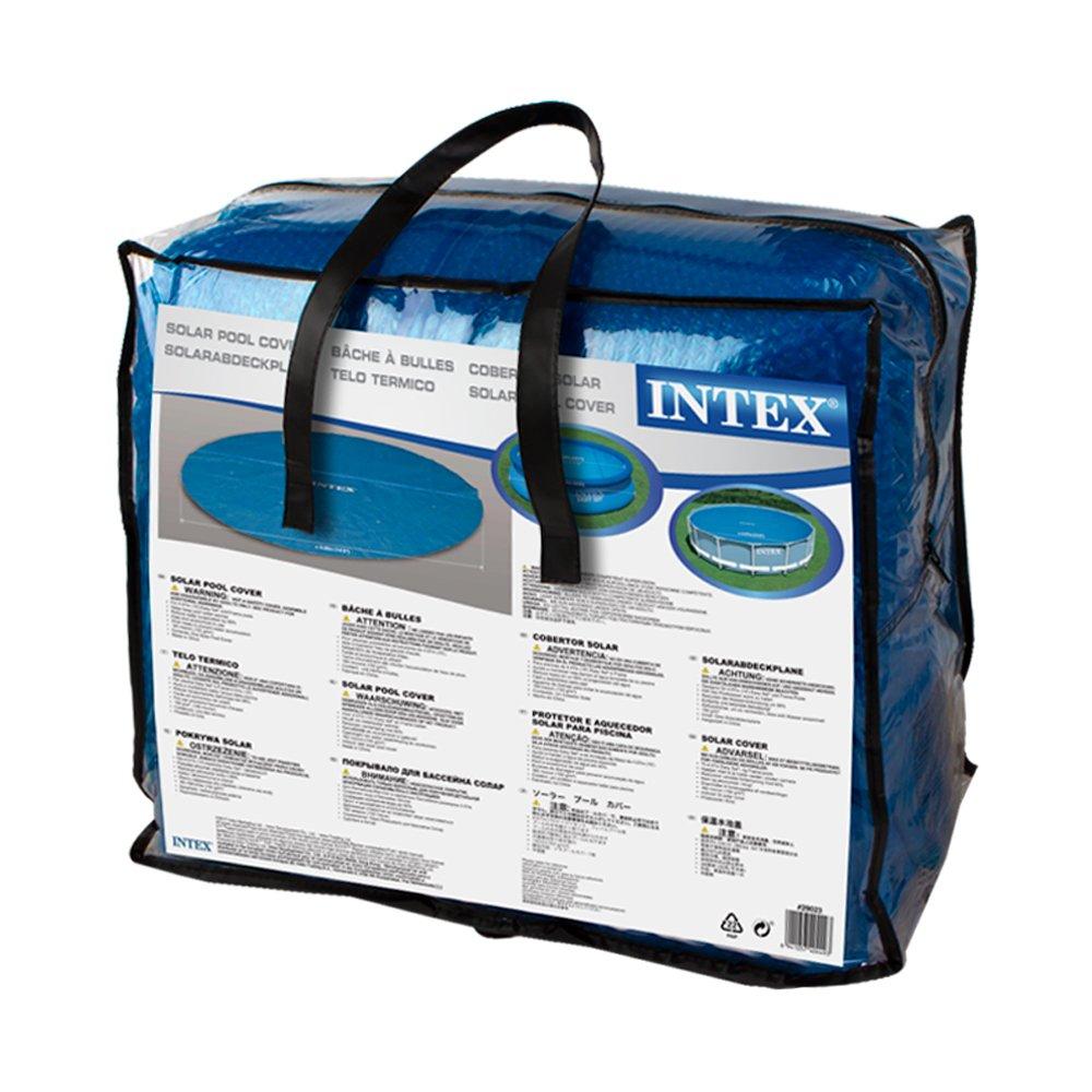 Intex - Cobertor solar para piscinas 457 cm de diámetro (29023): Amazon.es: Jardín