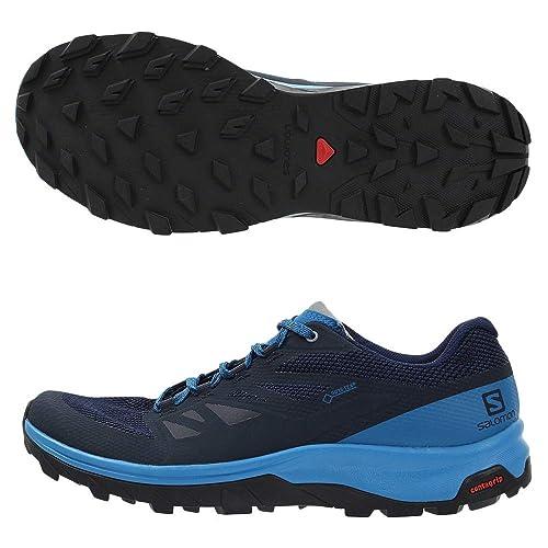 bc55ed25846 SALOMON Outline GTX Shoes Men Black/Phantom/Magnet 2019: Amazon.co ...