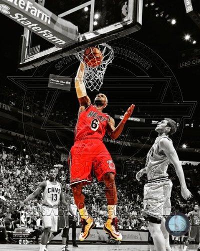 Dwyane Wade Miami Heat 2013 NBA Finals Game 4 Action Photo 8x10