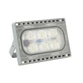 20W LED Fluter Flutlicht Kaltweiß Ultradünn Außen Strahler Scheinwerfer IP65