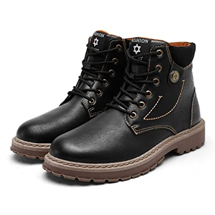 341687277d24d Amazon.com   Sam Carle Men Boots Fashion Ankle Boots Winter Men Motorcycle  Boots Male Oxfords Shoes Leather Martin Boots   Sports   Outdoors