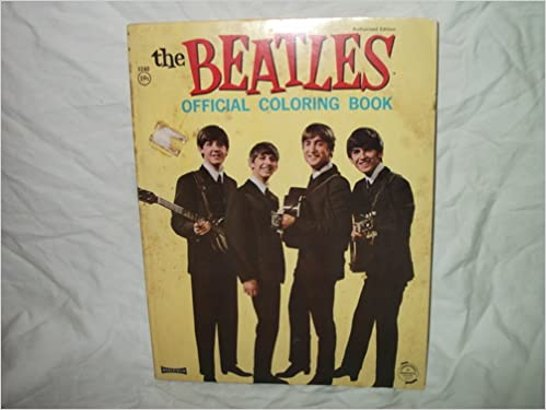 THE BEATLES OFFICIAL COLORING BOOK: Ltd Nems Enterprises: Amazon.com ...