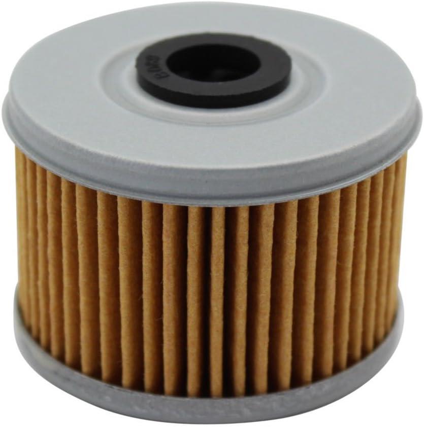 Cyleto Oil Filter For XL125 V XL125V VARADERO 125 DE LUXE 2001-2011 Pack of 4