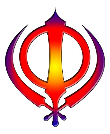 Amazon Gifts Delight Laminated 19x23 Poster Khanda Blue Red