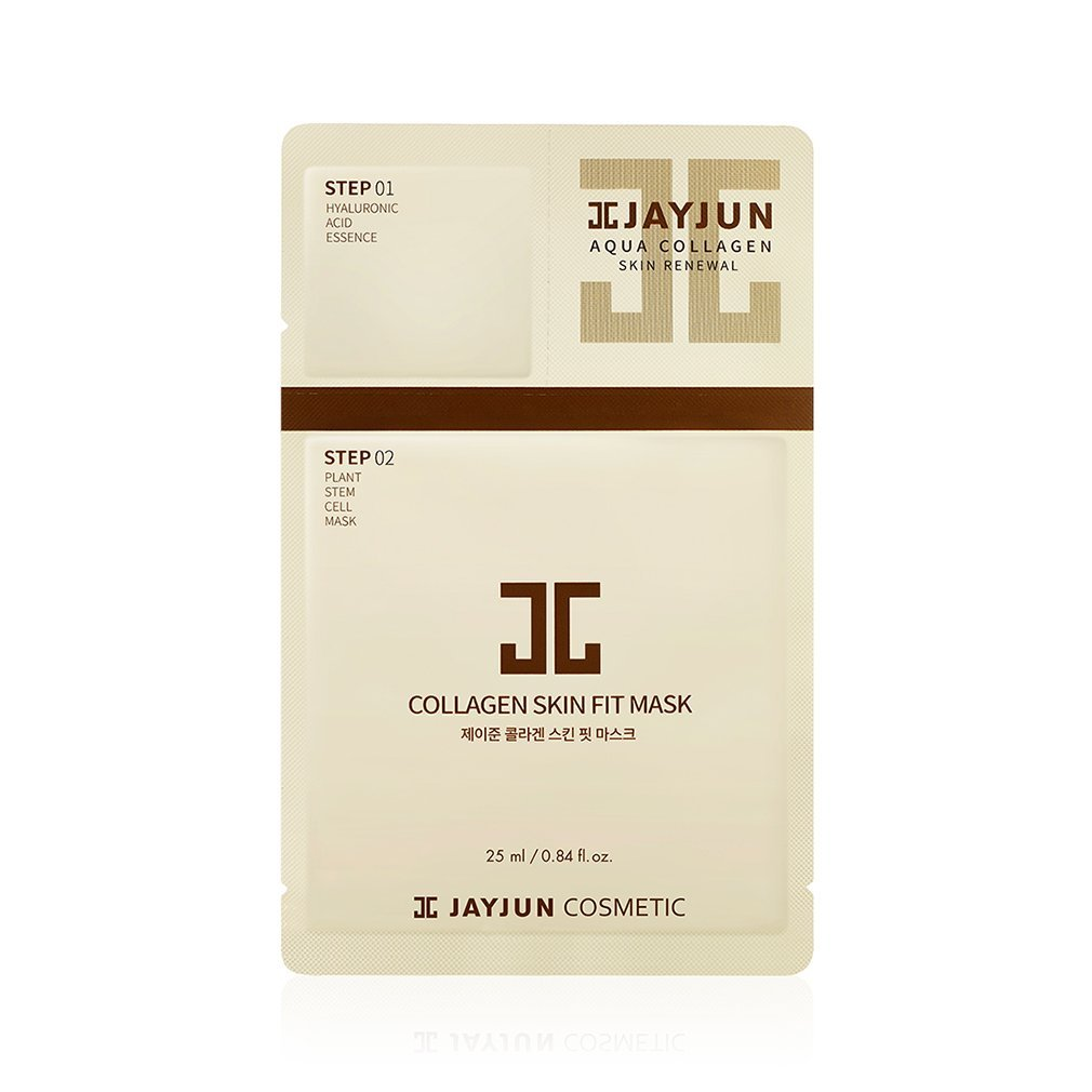 JAYJUN Skin Fit Collagen Aqua Brightening Mask Pack
