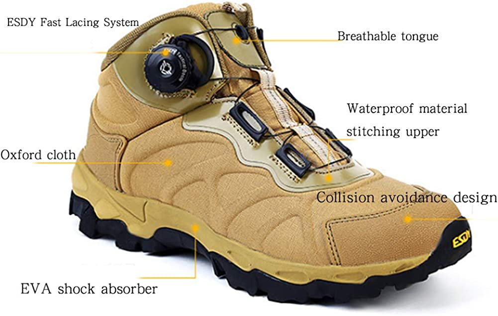 ZFLIN Hiking Shoes Outdoor Non-Slip Lightweight Breathable Walking