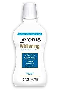 Lavoris Mouthwash Whitening 18 Fluid Ounce