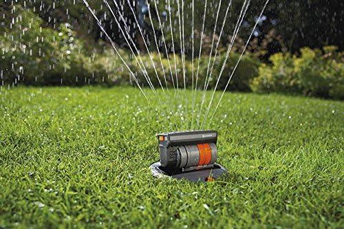 per Superfici Quadrate e Rettangolari da 140 m/² Gittata 15 m Gardena 8220-29 OS 140 Irrigatore per Sistema di Irrigazione Pop-Up