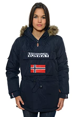 meilleure collection beau look la plus récente technologie Geographical Norway - Parka Femme: Amazon.fr: Vêtements et ...