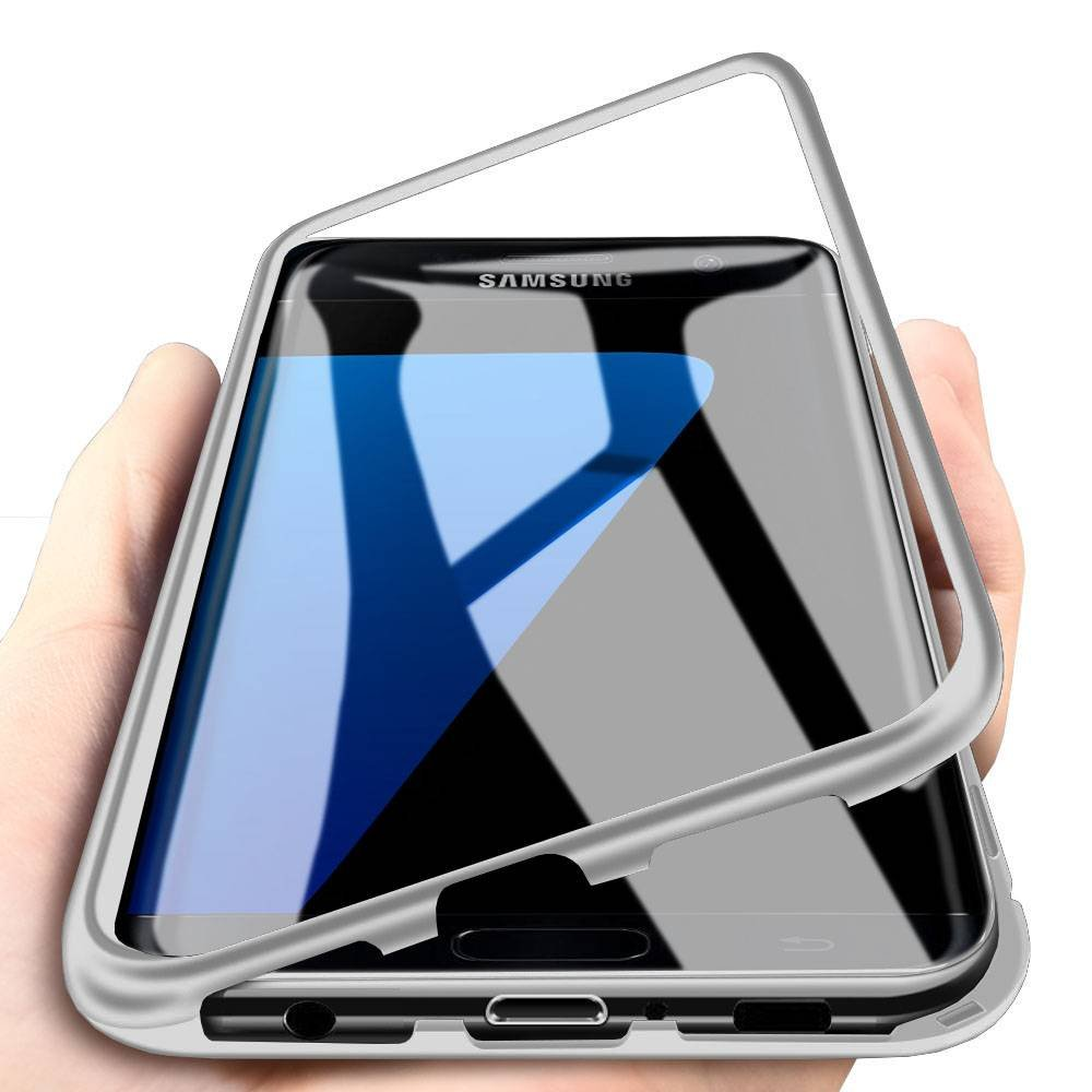 Amazon.com: Galaxy S7 Edge Case, Eabuy Aluminum Metal Bumper ...