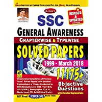 Kiran's SSC General Awareness Chapterwise & Typewise Solved Papers 1999 March 2018 English -2213