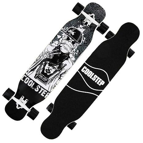 GDYYZYQ Long Board Skateboard Truck Wheelsdancing Board ...