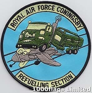 Royal Air Force RAF Coningsby reabastecimiento sección bordado insignia parche