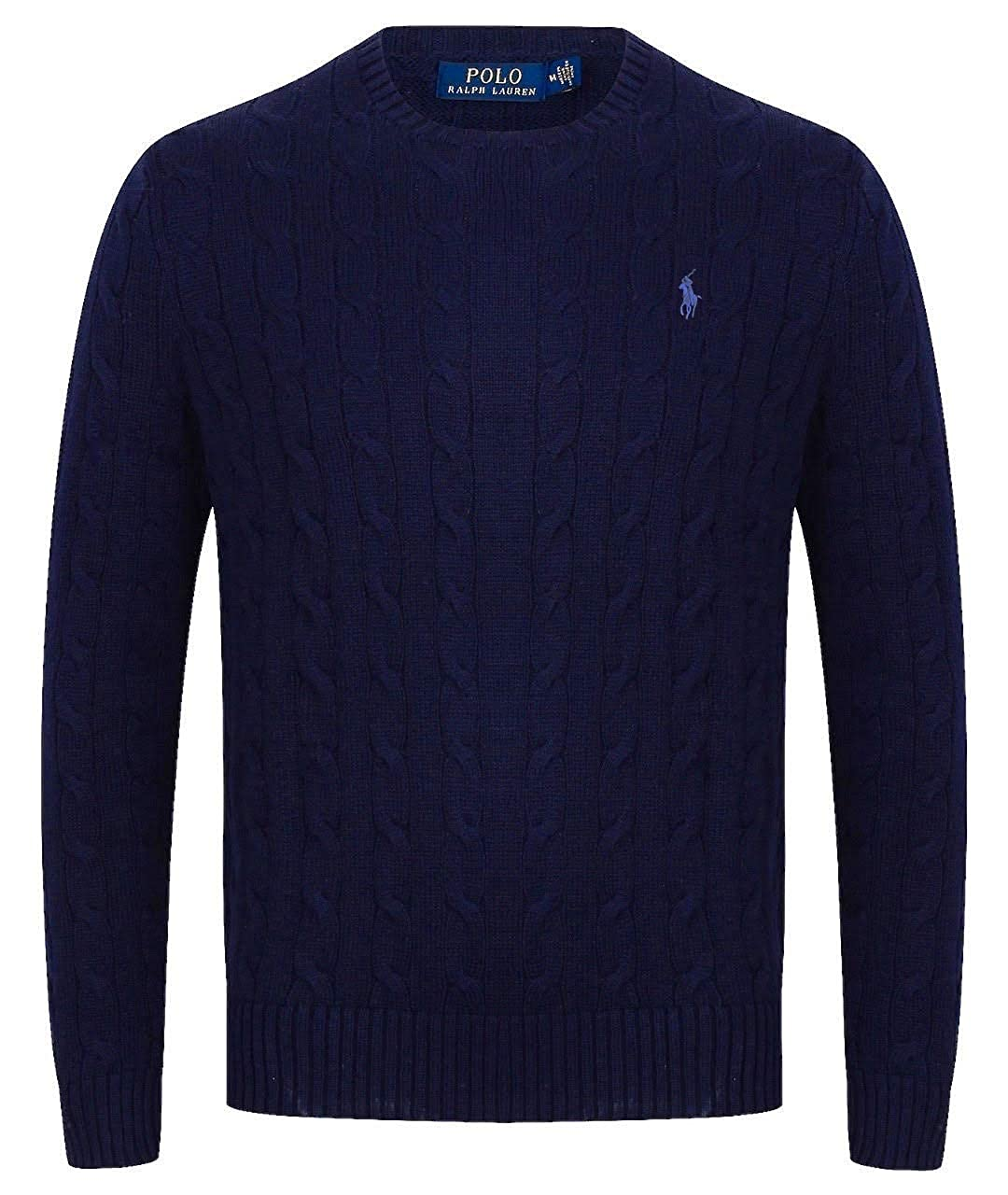 Ralph Lauren Cable Knit Crew Neck Jumper