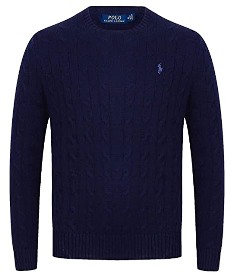 c153bd963740 Men s Ralph Lauren Cable-knit Cotton Sweater - Ralph Lauren Jumper (Small
