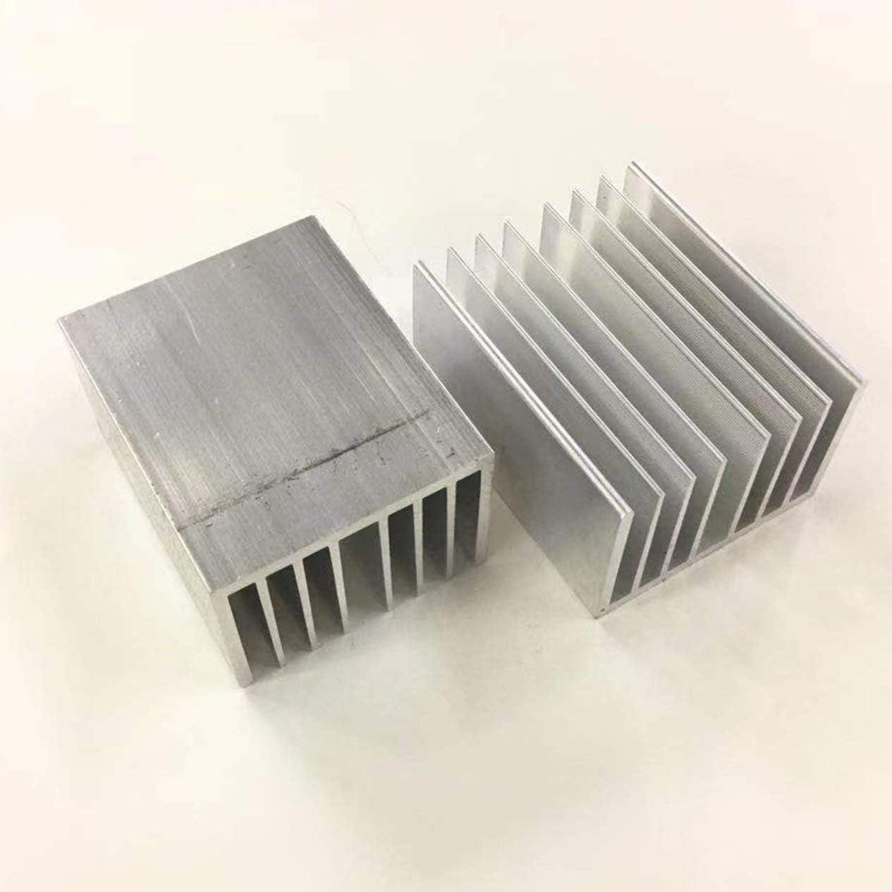 1pcs Aluminum heatsink LED heatsink 8055-100mm Heat Sink Aluminum Profiles Aluminum Color Chassis Radiator
