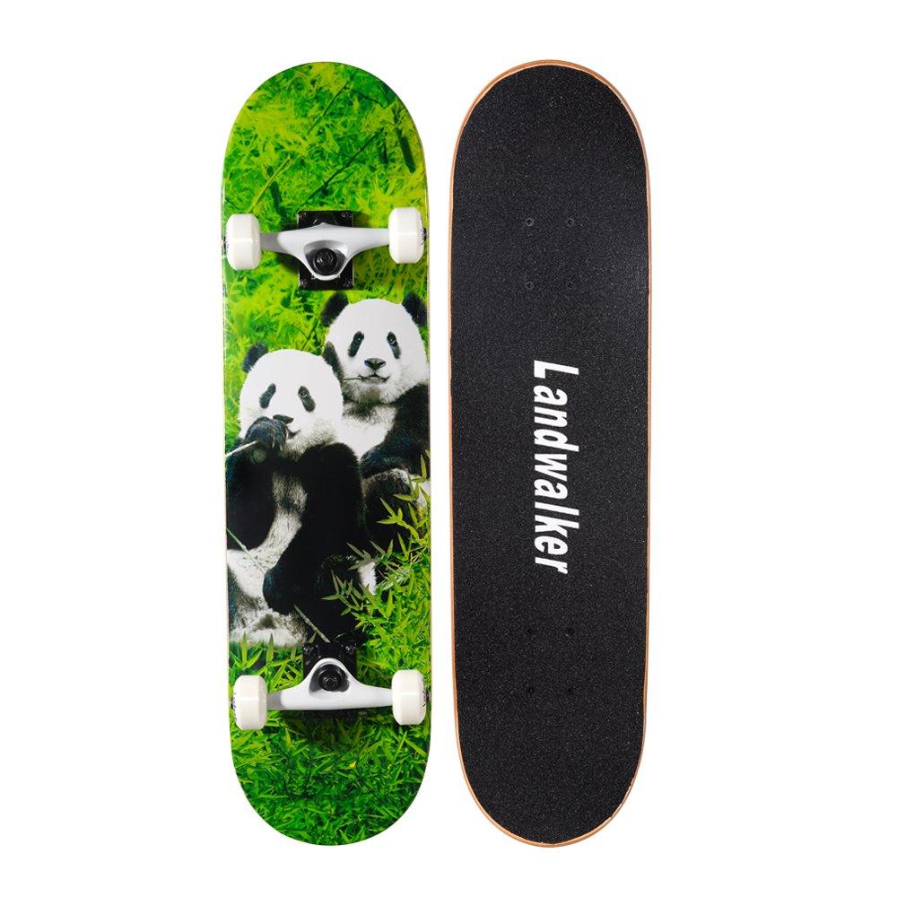 Landwalker Pro Cruiser Complete Girl Skateboard 31×8 Inch Skateboards Skateboard