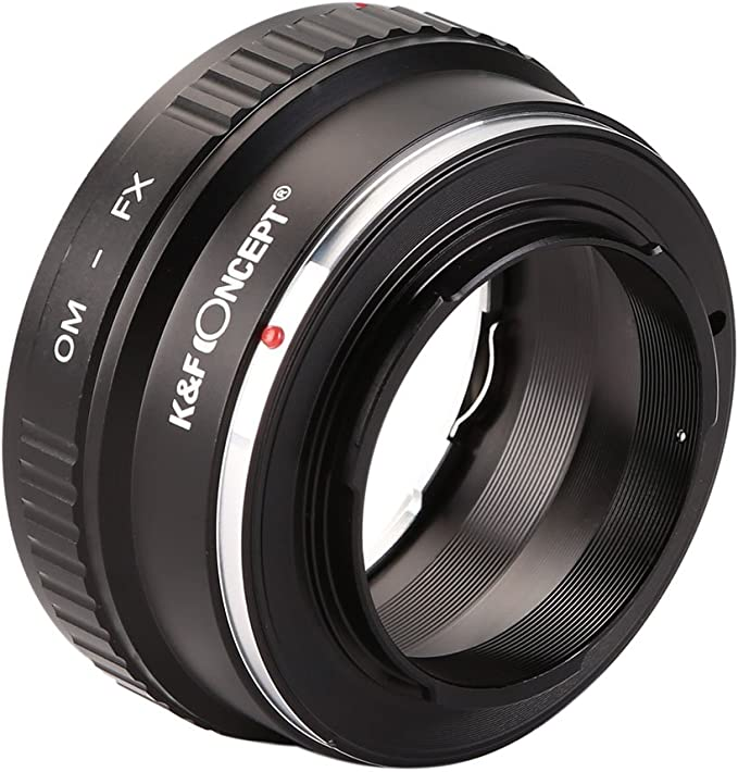 X-E1 X-Mount Camera Body for Fujifulm X-Pro1 Olympus OM Zuiko Lens to Fujifilm X Fotodiox Pro Lens Mount Adapter