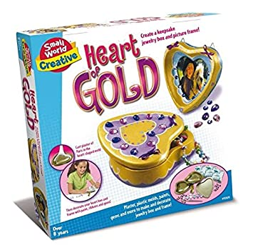 Make your own personalised heart of gold jewellery box fun home make your own personalised heart of gold jewellery box fun home project set number negle Choice Image