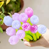 Yarachel Color Changing Flower Pens - Pack of 30 Ballpoint Pens Creative Gel Ink Rollerball Pen for School Home Office Statio
