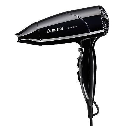 Bosch PHD2511B 1800W Negro secador - Secador de pelo (Negro, 1,8 m