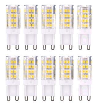 G9 Bombilla LED blanco cálido – bombilla led G9 5 W 420LM sin parpadeo, ángulo
