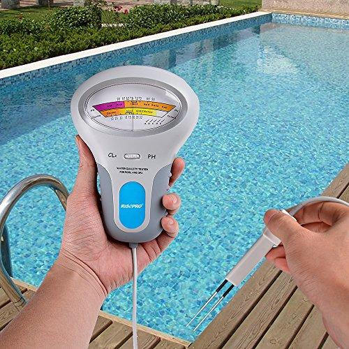 Chlorine Tester Risepro Ph Cl2 Chlorine Level Tester
