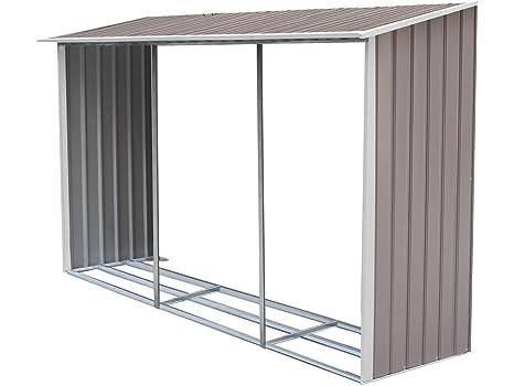 Leñero para caseta metália Dallas 12,99 m²