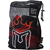Meister WRAP Bag for Washing MMA & Boxing Hand Wraps - Drawstring Mesh Large