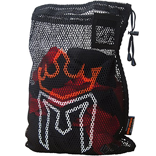 Meister WRAP Bag for Washing MMA & Boxing Hand Wraps - Drawstring Mesh - Wraps Thai Muay