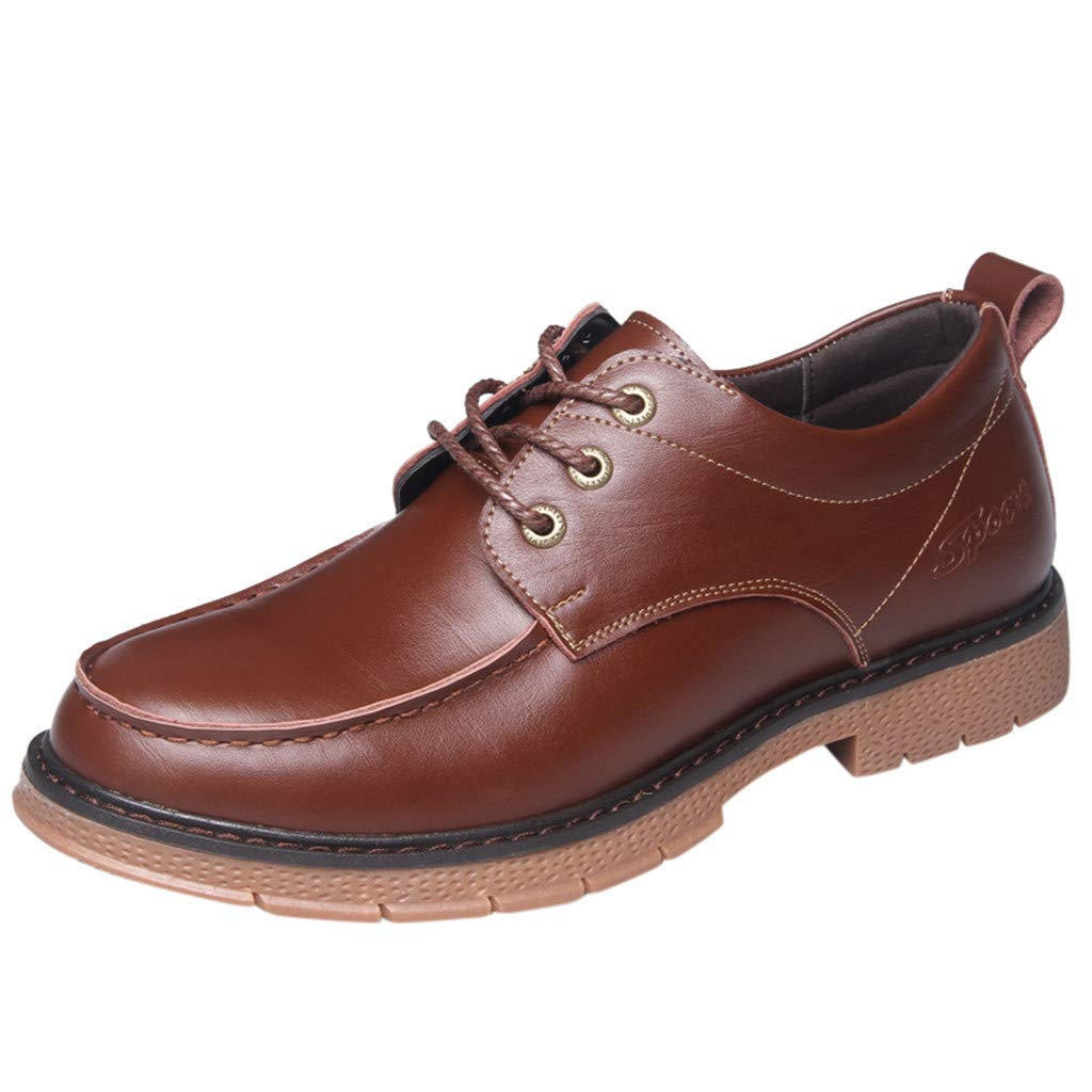 Men Oxford Leather Shoes Wedding Business Oxfords Casual Formal Boots Breathable Shoes for Walking Mens Shoes