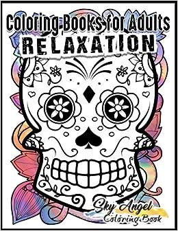 coloring books for adults relaxation sugar skull designs dia de los muertos sugar skull coloring book day of the dead coloring book patterns for is - Sugar Skull Coloring Book